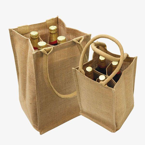 4 Bottle Wine Bags