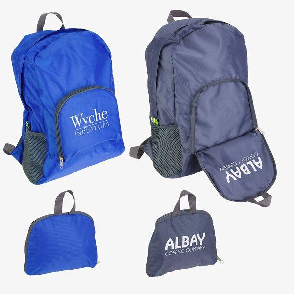 Reusable Customized Folding Backpacks
