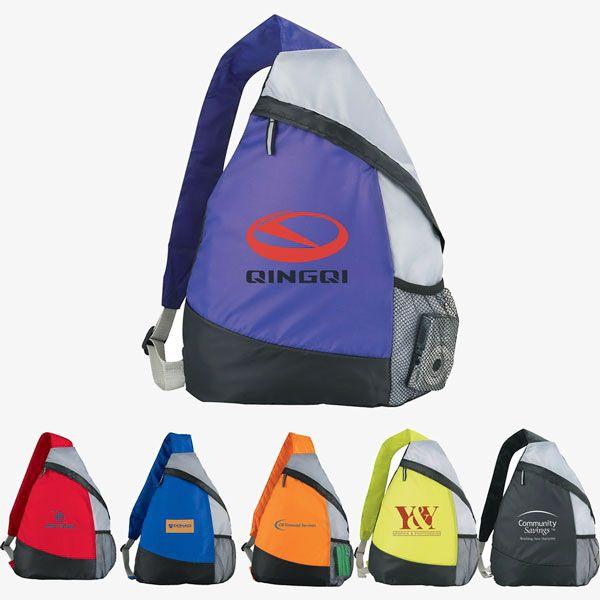Custom Reusable Sling Backpacks