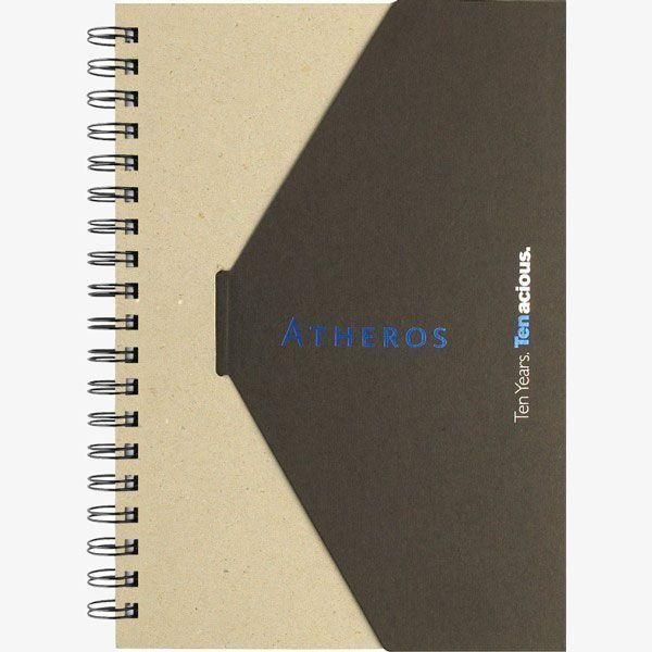 Bulk Printed Planet-Friendly Spiral Notebooks