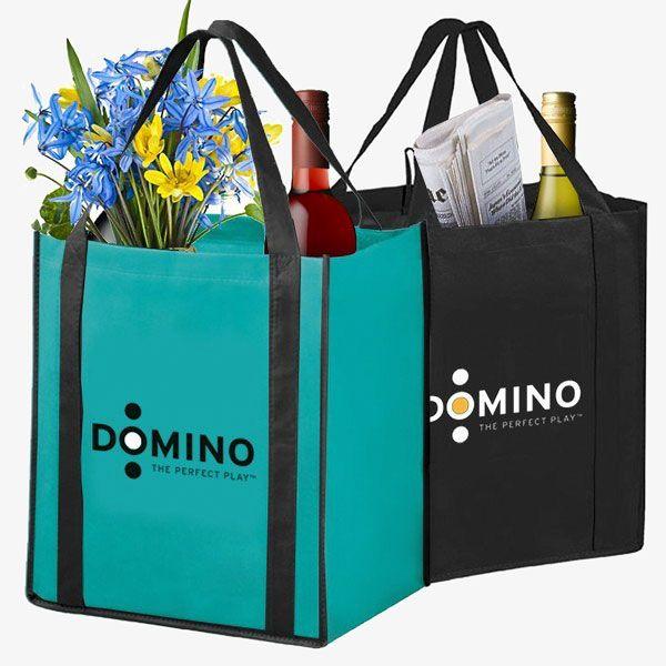 Combo Wine & Grocery Bags