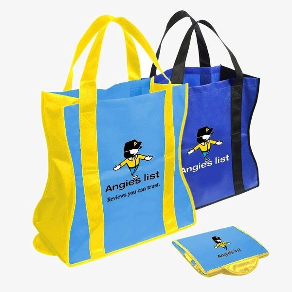 Custom Folding Tote Bags