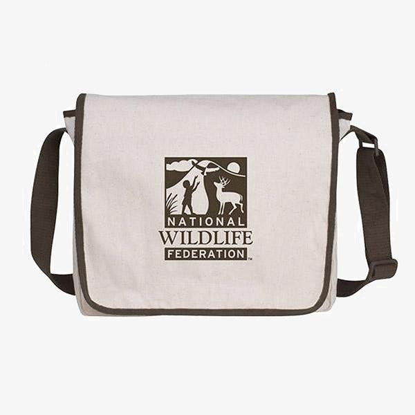 Custom Cotton Messenger Bags