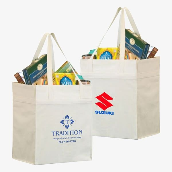 Eco-Friendly Bamboo Large Grocery Bags