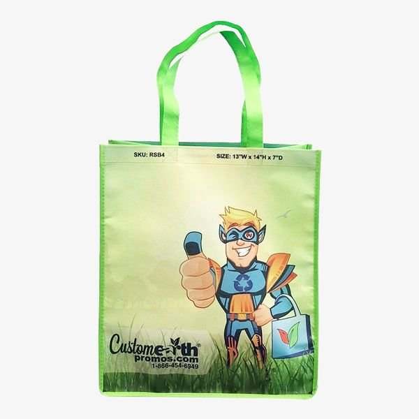 Eco-Friendly Color Sublimated Bags