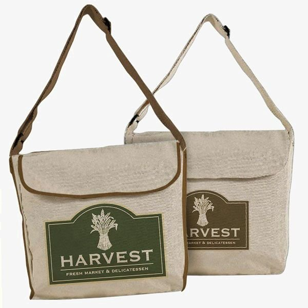 Eco-Friendly Messenger Tote Bags