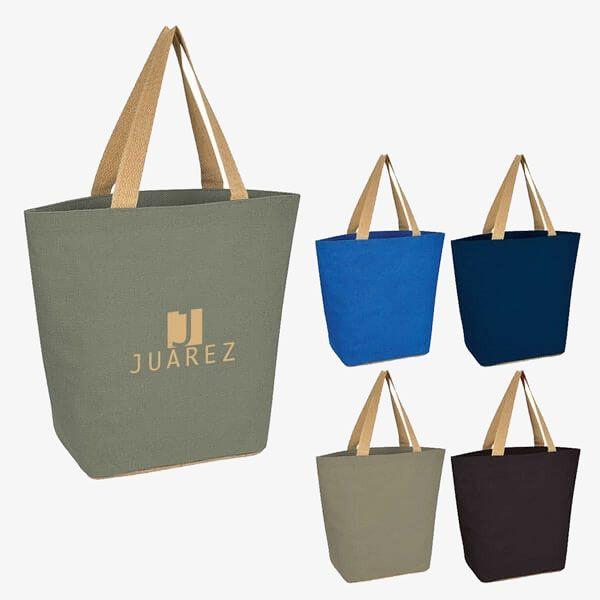 Eco Jute Reusable Shopping Tote Bags