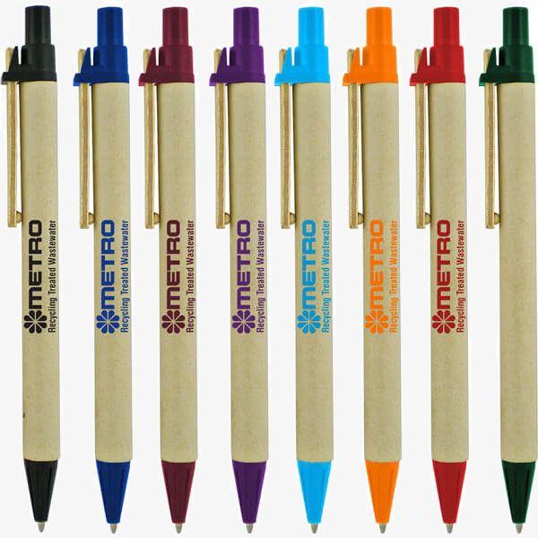 Eco-Friendly Custom Recycled Pens