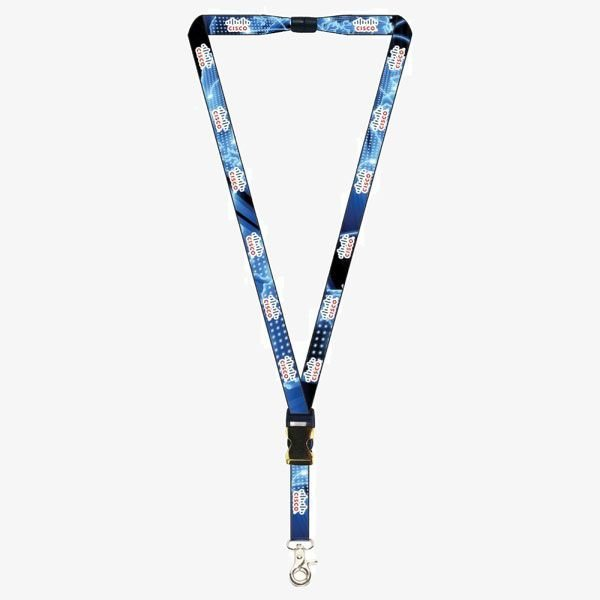 """5/8"""" Recycled Sublimated Lanyards"""