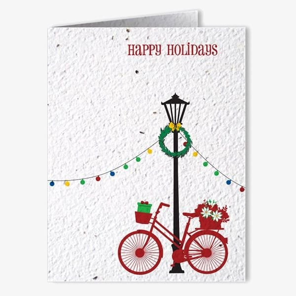 Holiday Seed Paper Cards