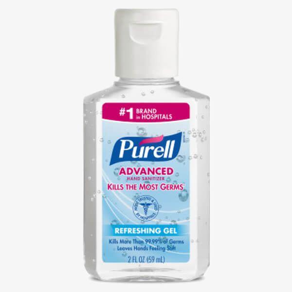 2 oz Purell Hand Sanitizers