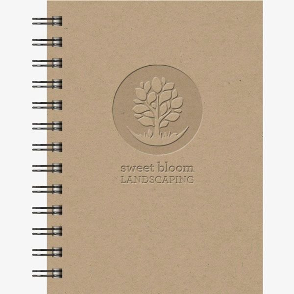 Imprinted Recycled Earth-Friendly Notebook Jotters