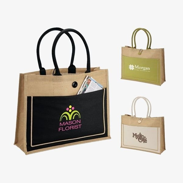 Jute Biodegradable Grocery Totes