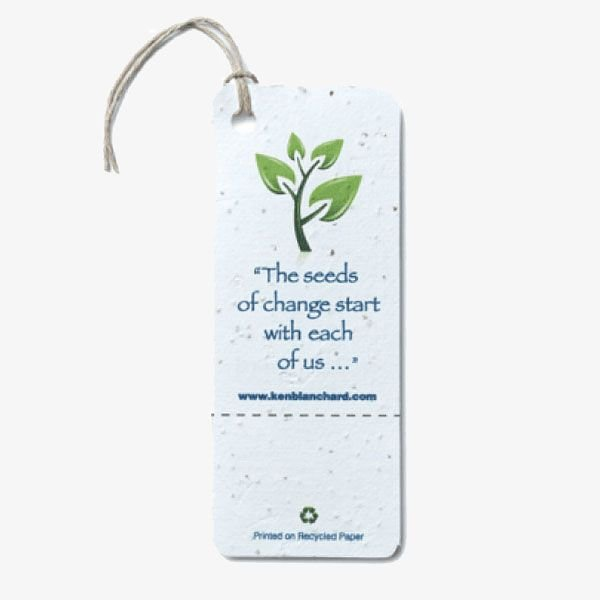 Large Seed Paper Product Tags
