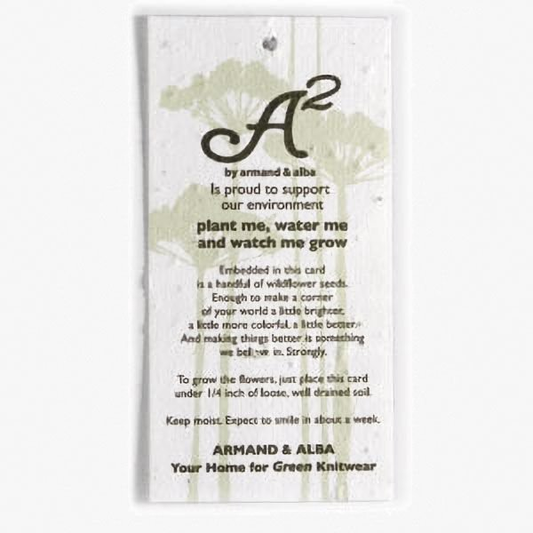 Medium Seed Paper Product Tags