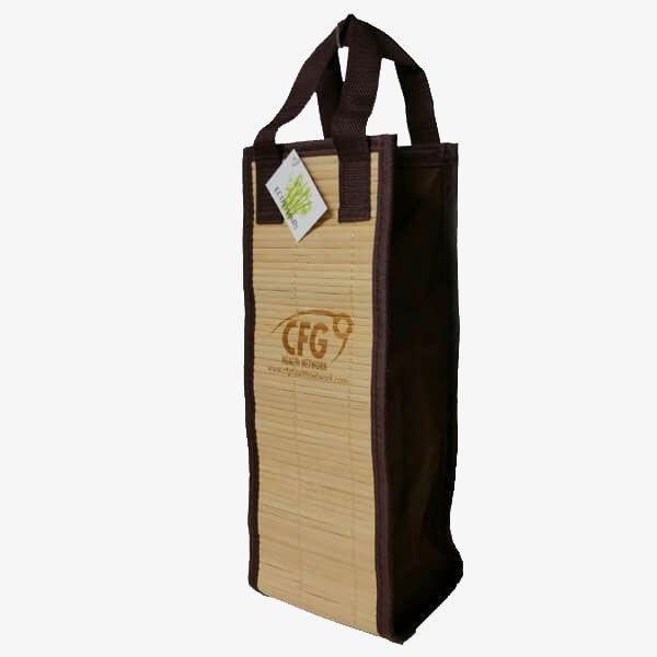 One-Bottle Bamboo Wine Bag