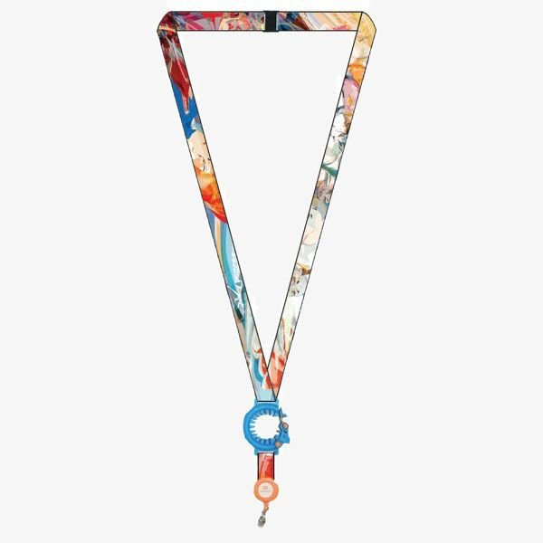 """1/2"""" Recycled Sublimated Lanyards"""