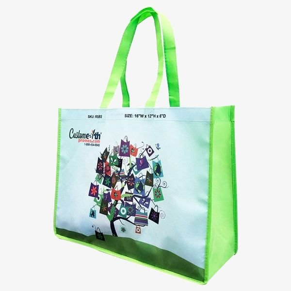 Personalized Eco-Sublimated Grocery Bags