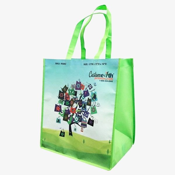 Reusable Custom-Made Grocery Totes