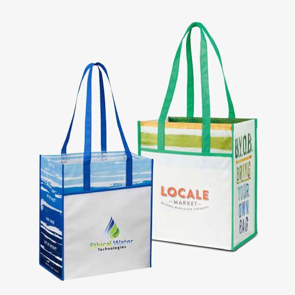 Reusable Laminated Shopping Bags