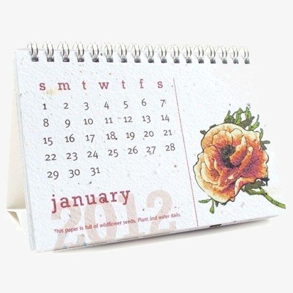 Seed Paper Calendars