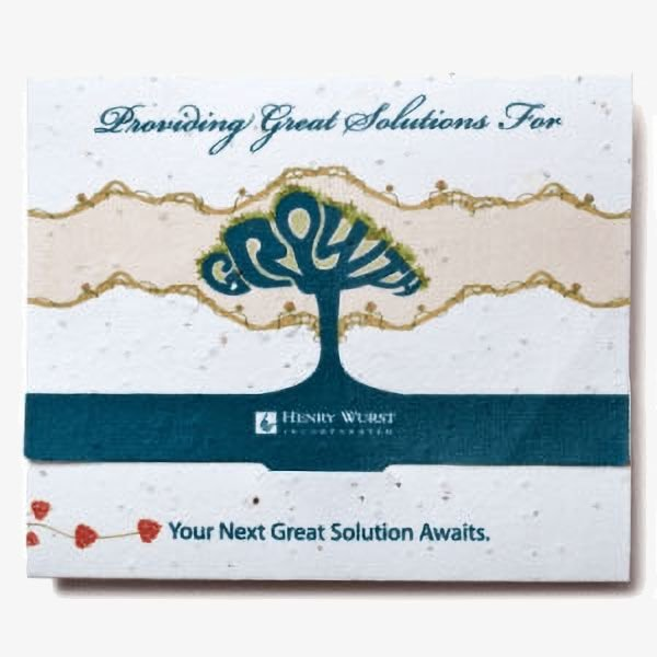 Seed Paper Gift Card Holders