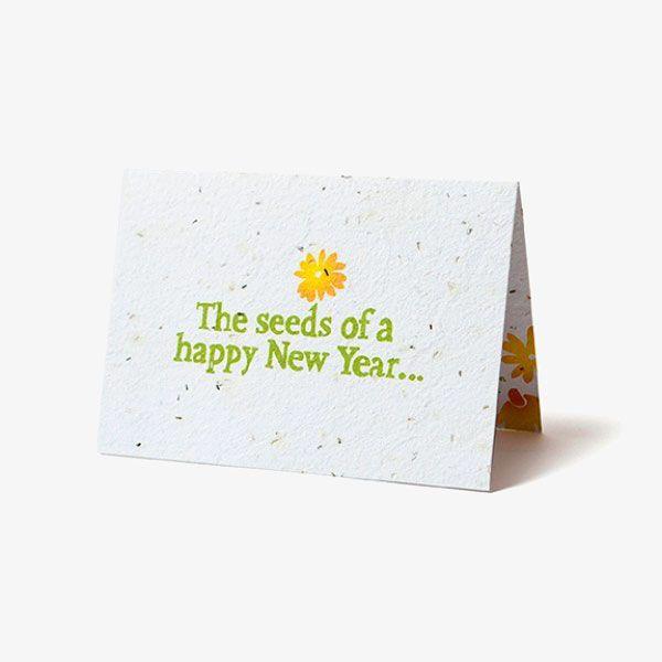Seed Paper Folding Custom Cards