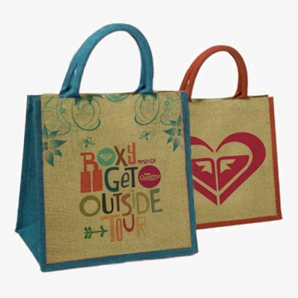 Small Wholesale Reusable Jute Bags