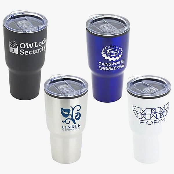 Stainless Steel and Polypropylene Tumbler