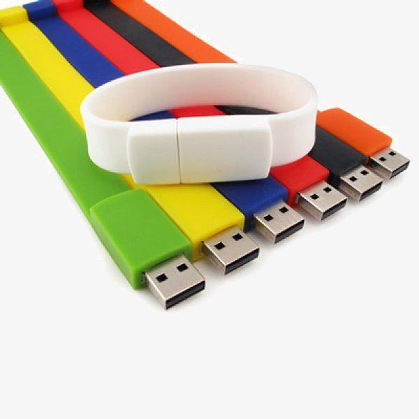 Printed Wristband USB Storage Drives