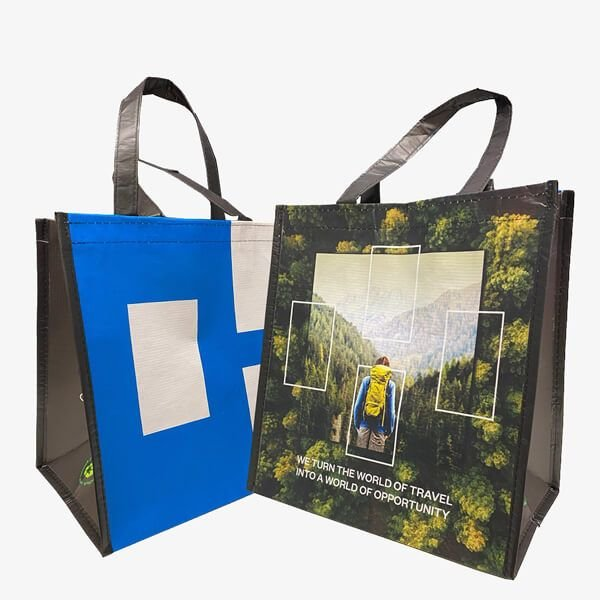 Wholesale Laminated Grocery Totes