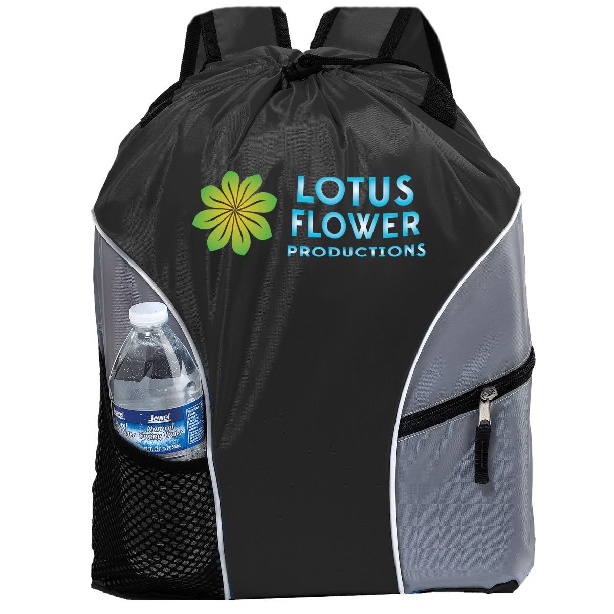 Eco-Friendly Imprinted Backpacks - Black 38163a7fdaaa6
