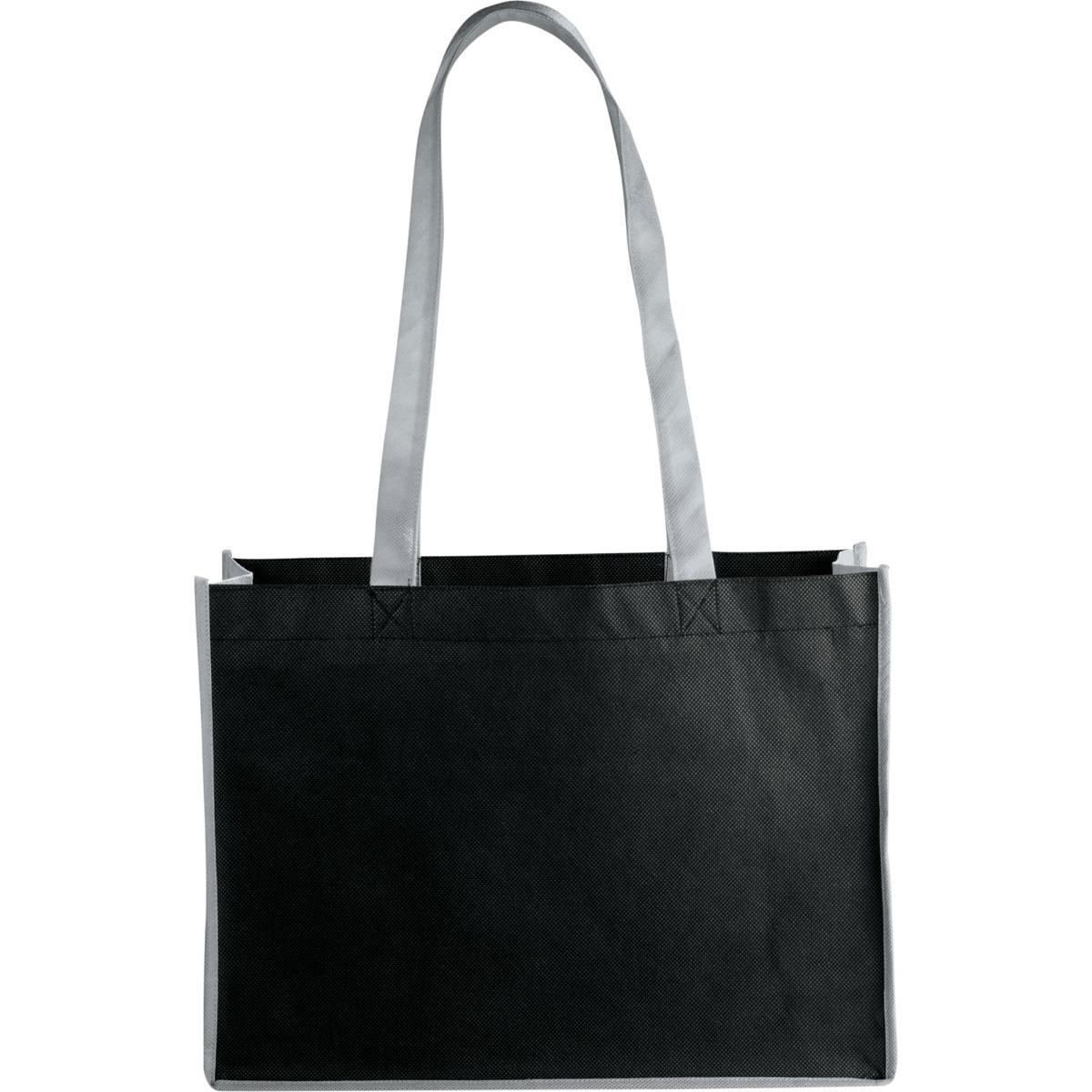 e118bc2d3de8 Eco-Friendly Non-Woven Bags - Black Gray