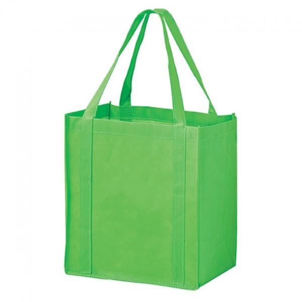 Mini Reusable Eco Totes Lime Green