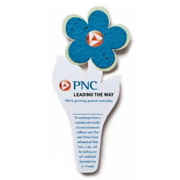 Seed paper flower bookmark bulk promotional bookmarks seed paper flower bookmark royal mightylinksfo