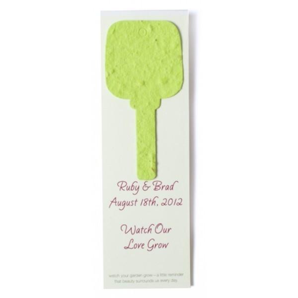 seed paper value shape bookmark key