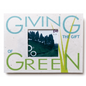 Seed paper window gift card holder custom plantable cards seed paper window gift card holder gift of green negle Gallery