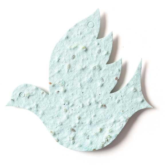 Seed Paper Shape Dove 2 - Powder Blue