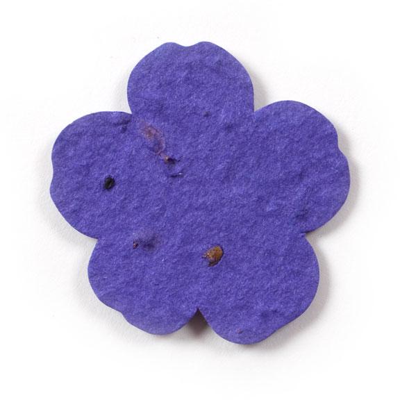 Seed Paper Shape Flower 11 - Violet