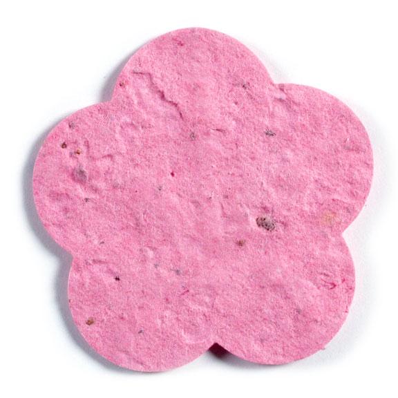Seed Paper Shape Flower 6 - Pink