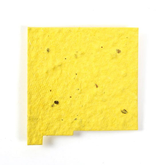 Seed Paper Shape New Mexico - Yellow