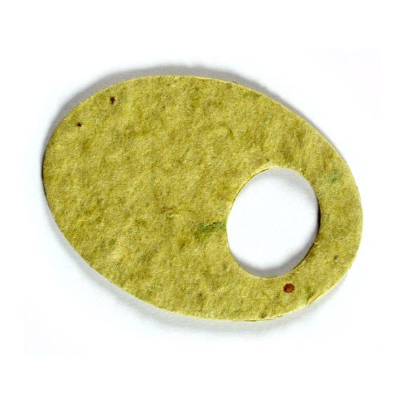 Seed Paper Shape Olive - Lime Green