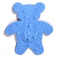 Seed Paper Shape Bear 1 - Light Blue