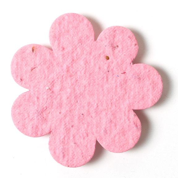 Seed Paper Shape Flower 2 - Pink