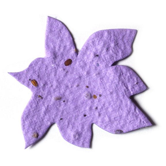 Seed Paper Shape Flower 3 - Lavender