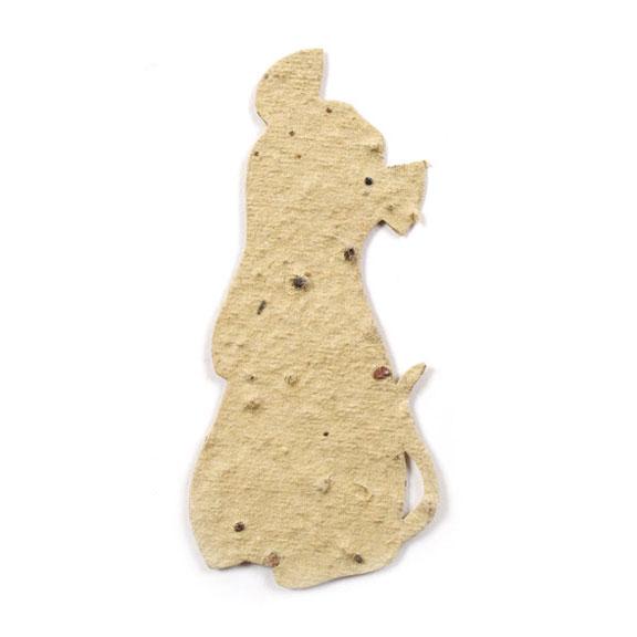 Seed Paper Shape Rat - Natural Brown