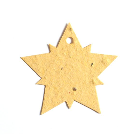 Seed Paper Shape Star 2 - Light Yellow