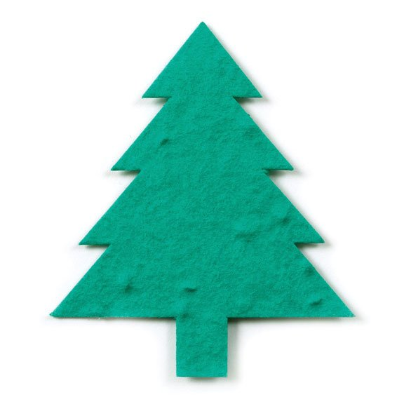 Seed Paper Shape Tree 2 - Forest Green
