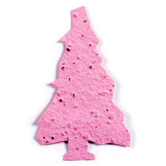 Seed Paper Shape Tree 3 - Pink