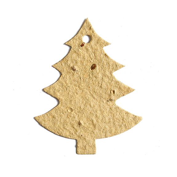Seed Paper Shape Tree 5 - Light Yellow